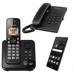 טלפוניה קבועה ואלחוטית