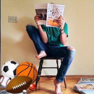 ספרים וספורט מגזינים