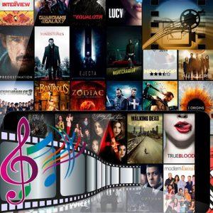 מוסיקה, סרטים וסדרות